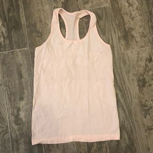 Lululemon Swiftly Tech tank light pink size 8